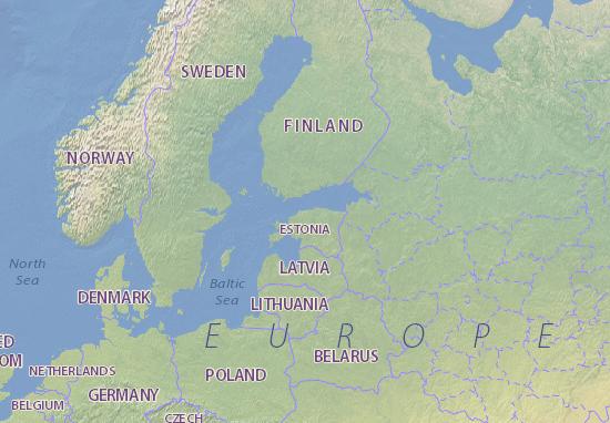 Estonia Map: Detailed maps for the city of Estonia - ViaMichelin