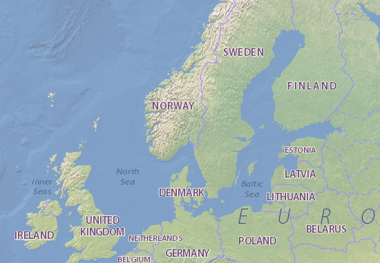 Map of Norway Michelin Norway map ViaMichelin – Norway Tourist Attractions Map
