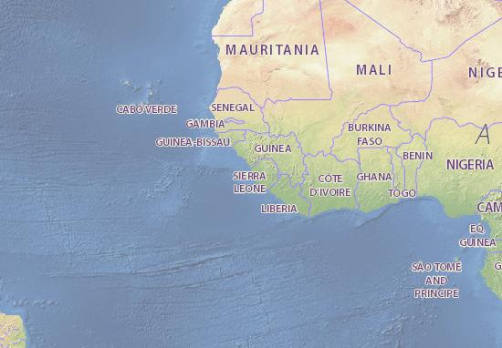 Carte-Plan Sierra Leone