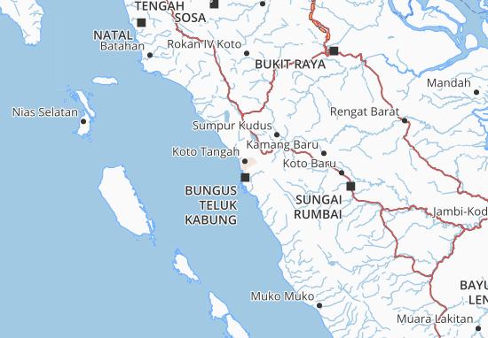 Kota Padang Map