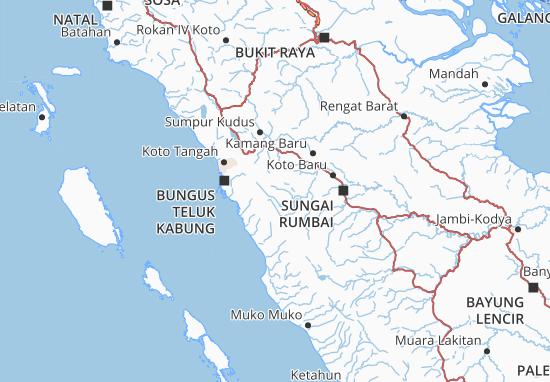 Cartina Indonesia Dettagliata.Mappa Michelin Solok Pinatina Di Solok Viamichelin