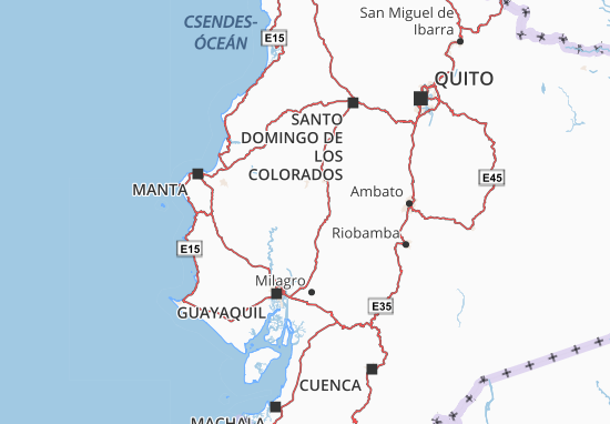 Karte Stadtplan Palenque