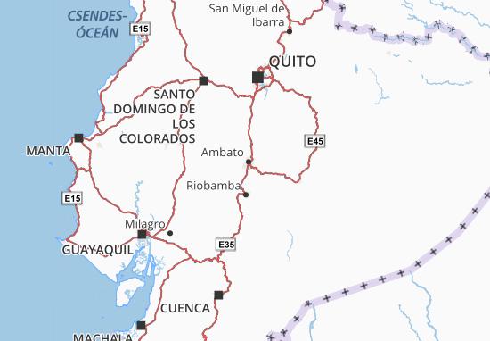 Tisaleo Map
