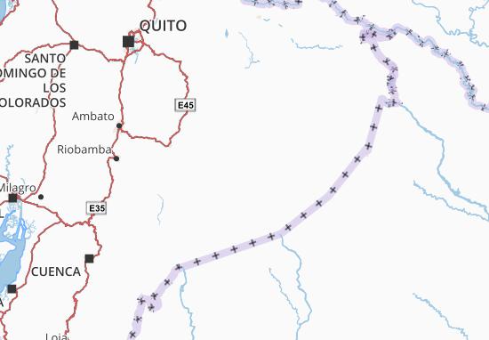 Pastaza Map