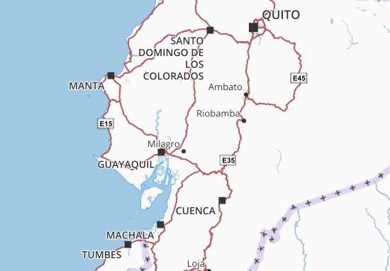 Kaart Plattegrond Babahoyo