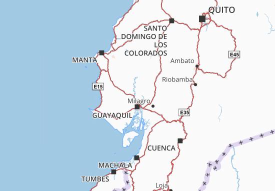 Daule Map