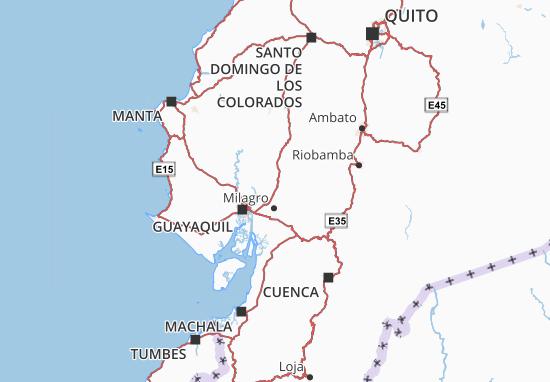 Alfredo Baquerizo Moreno Map