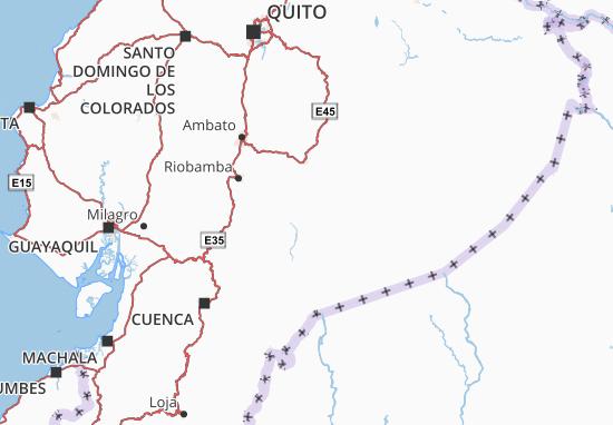 Carte-Plan Huamboya