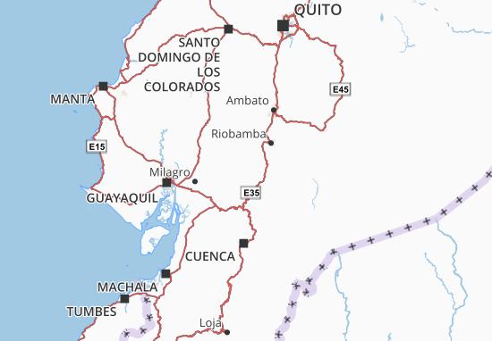 Pallatanga Map