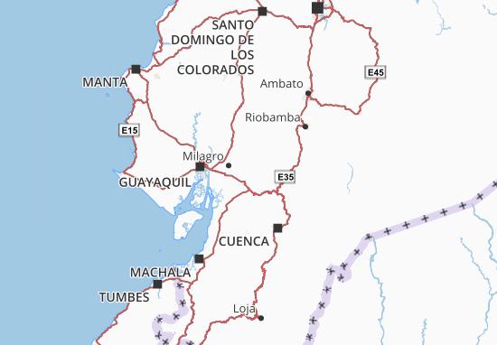 Coronel Marcelino Maridueña Map