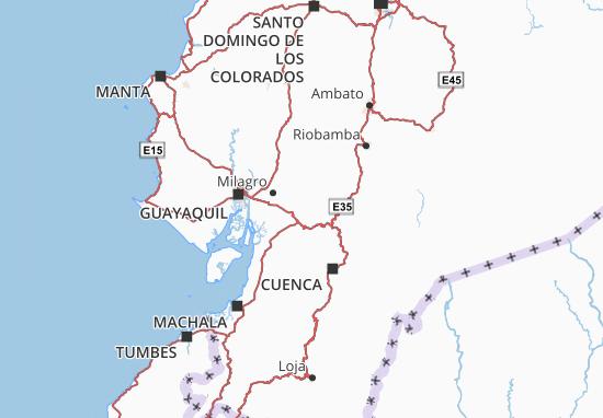 Mapa El Triunfo - plano El Triunfo - ViaMichelin