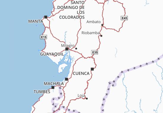 La Troncal Map