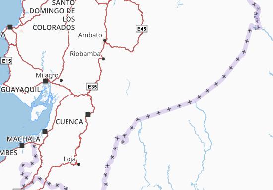Morona Santiago Map