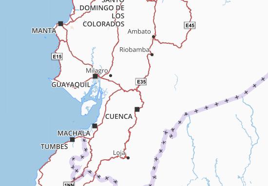 Cañar Map