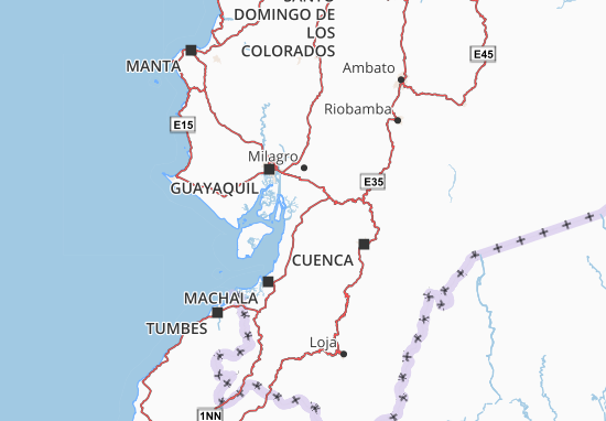 Mappe-Piantine Naranjal