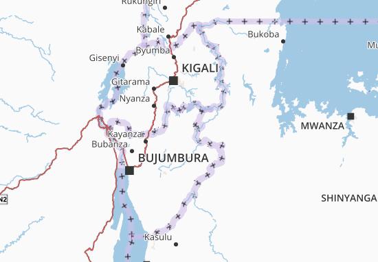Mapa Plano Muyinga