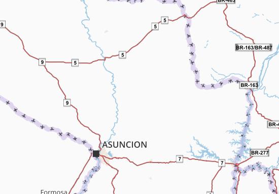 San Pedro Map