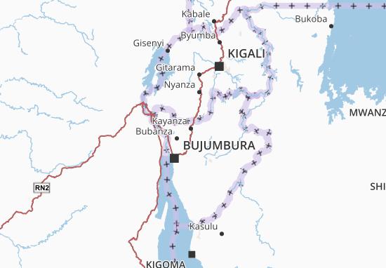 Mapa Plano Kayanza