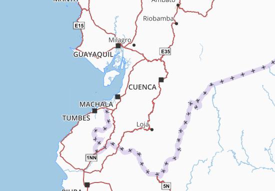 Pucará Map
