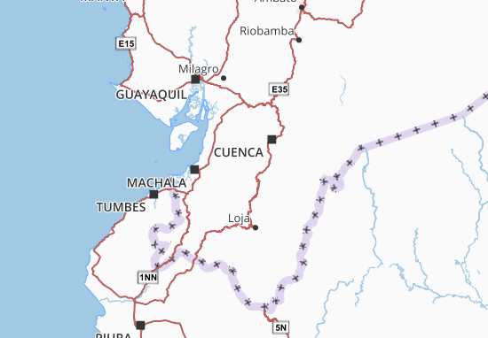 Santa Isabel Map