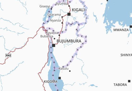 Mappe-Piantine Burundi