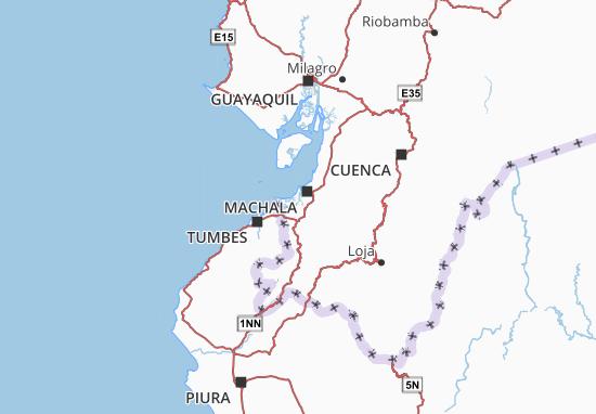 Carte-Plan Santa Rosa