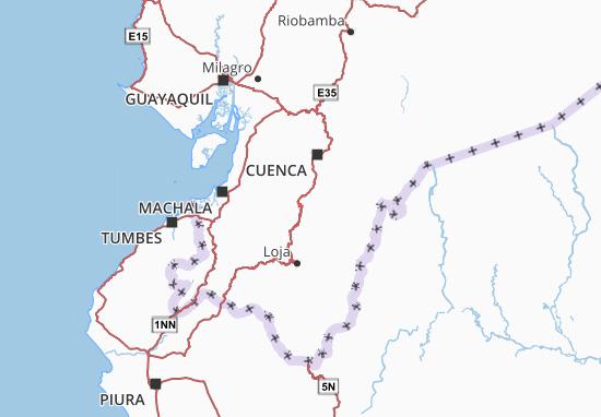 Oña Map