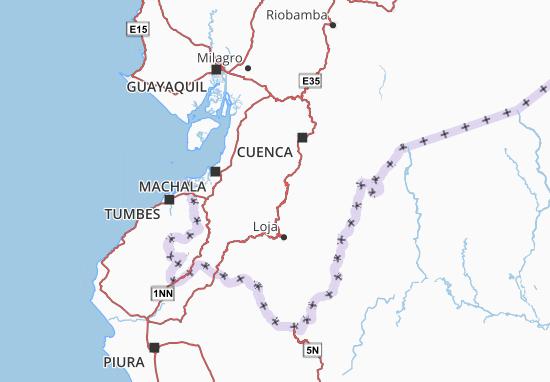 Saraguro Map