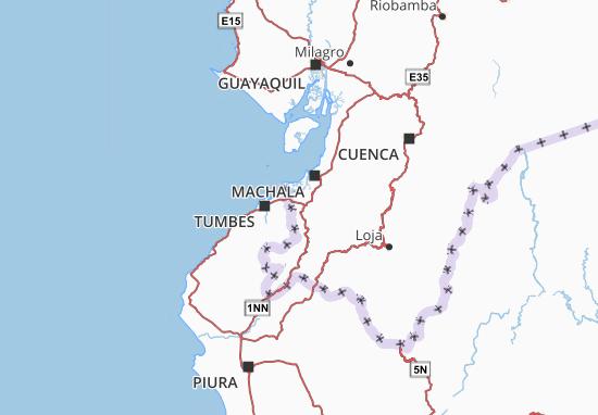 Arenillas Map