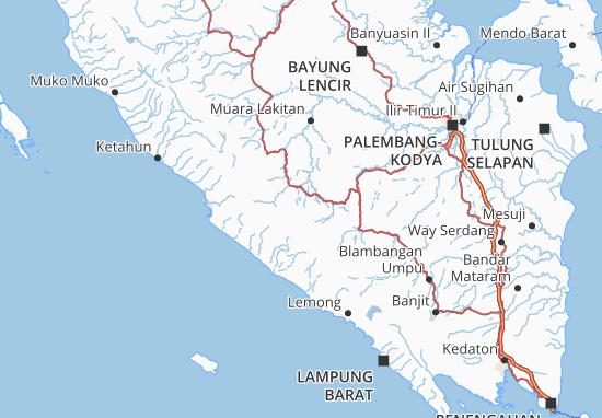 Lahat Map