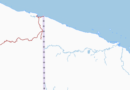 Carte-Plan West Sepik
