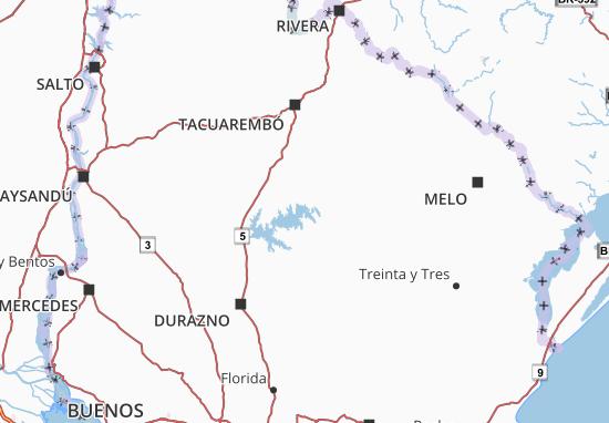 Carte-Plan Uruguay