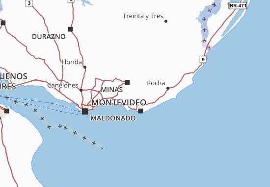 Carte-Plan Maldonado