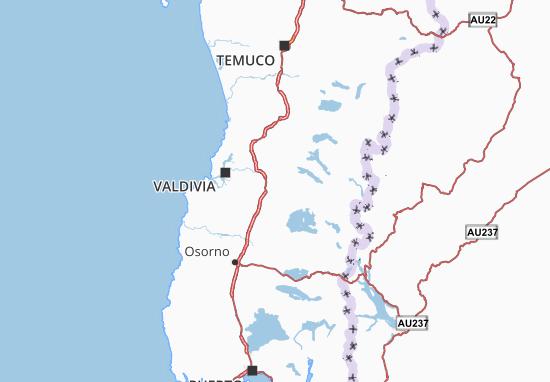 Los Ríos Map