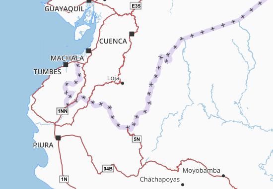 Carte-Plan Zamora
