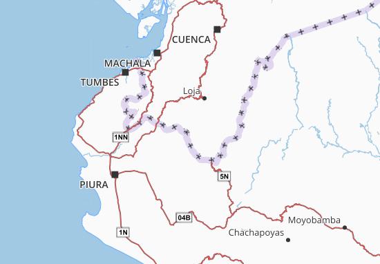 Espíndola Map