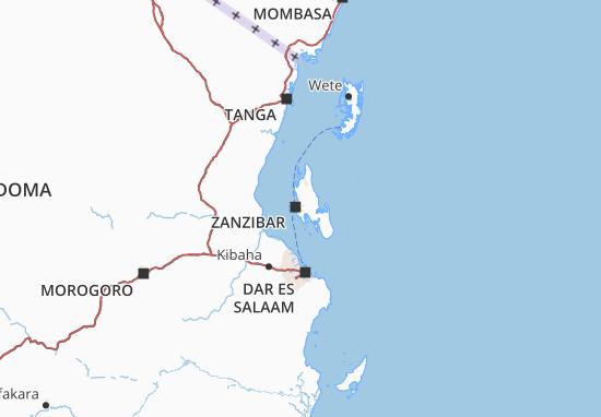 Mapa zanzibar west plano zanzibar west viamichelin mapa de zanzibar west mapa y plano detallado de zanzibar west gumiabroncs Gallery