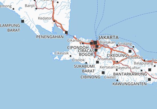 Lebak Map