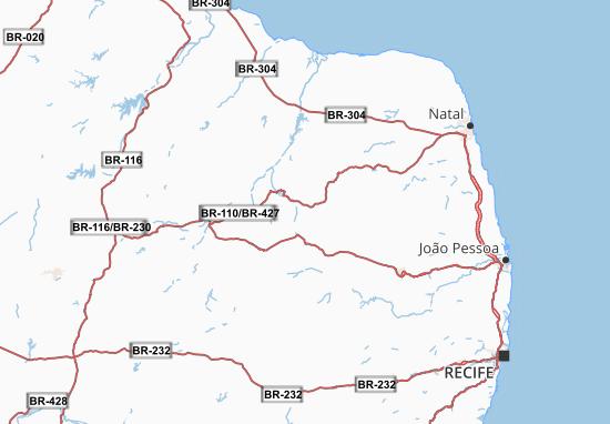 Carte-Plan Pernambuco