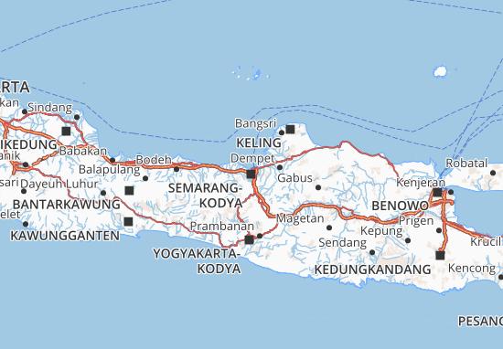 Mapas-Planos Kota Semarang