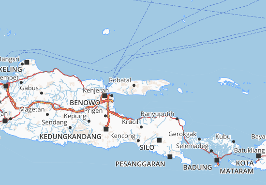 Mappe-Piantine Jawa Timur