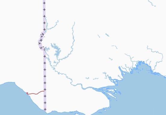 Mapa Plano Western