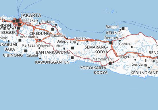Banyumas Map