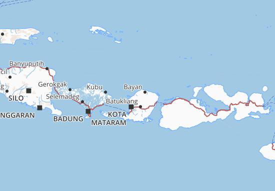 Mappe-Piantine Lombok Utara