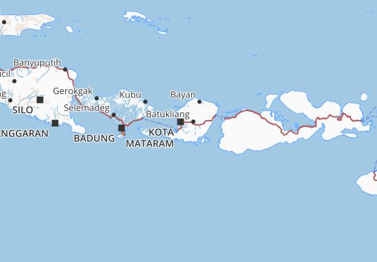 Mappe-Piantine Lombok Tengah