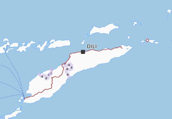 Mapa Plano Timor Lorosa'e