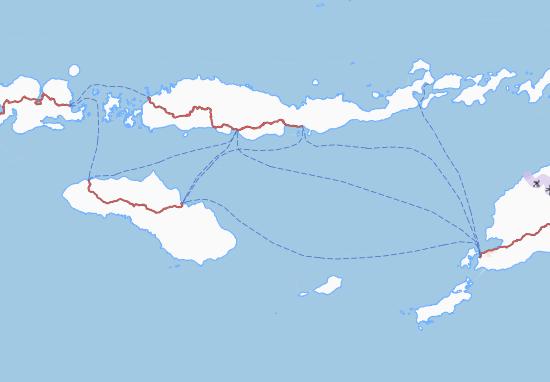 Nusa Tenggara Timur Map