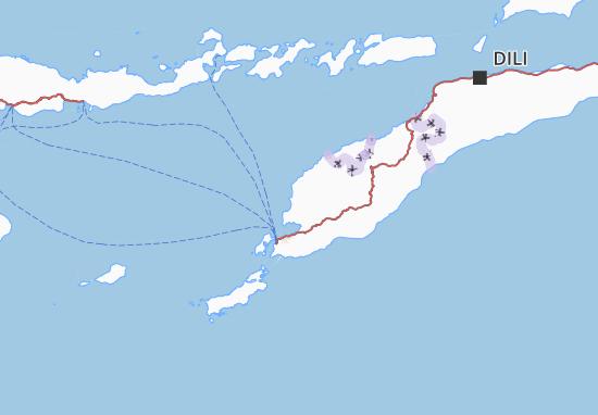Kupang Map