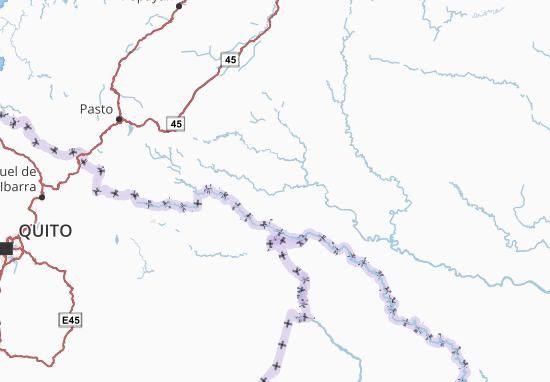 Putumayo Map