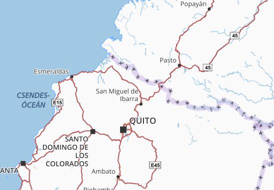Ibarra Map